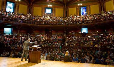 Justice @ Harvard University